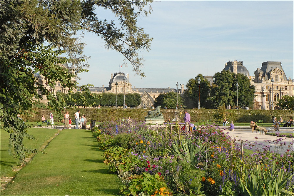 the Jardin des Tuileries in Paris' 1st Arrondissement