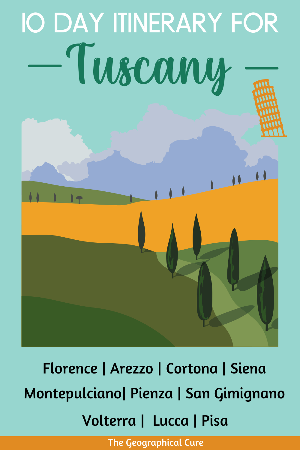 10 Day Itinerary for Tuscany