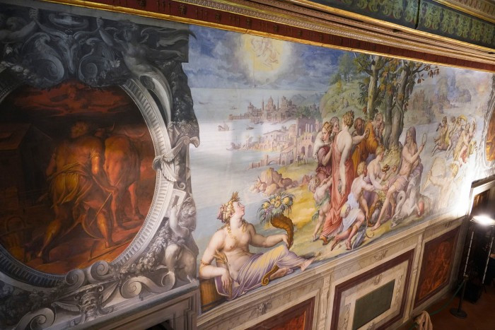 Room of the Elements in the Palazzo Vecchio