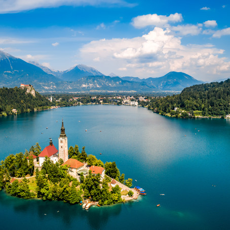 Guide To Visiting Lake Bled Slovenia: Cliffhangers and Cream Cake