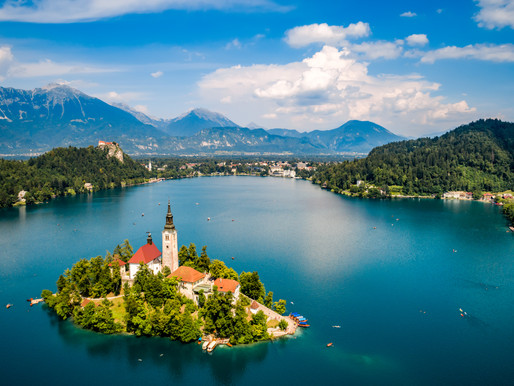 Cliffhangers and Cream Cake in Lake Bled Slovenia