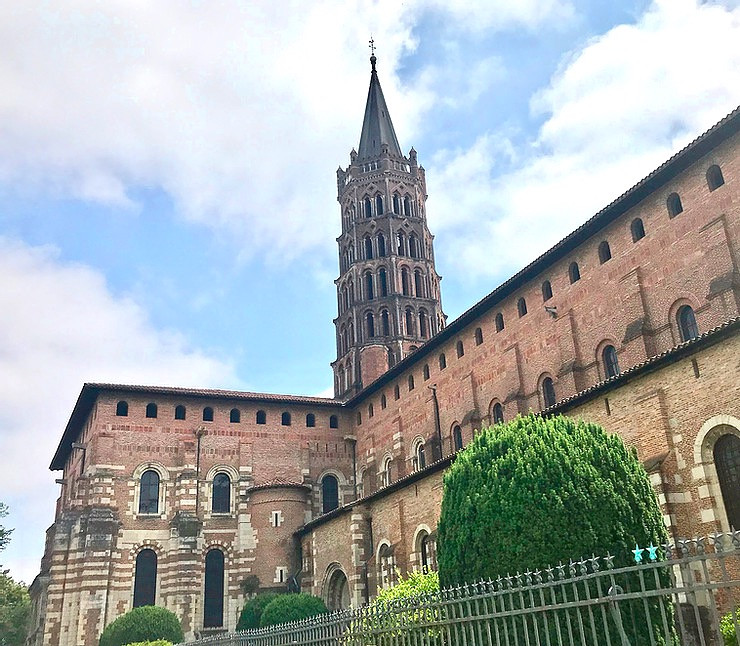 Basilica of Saint-Sernin, a must see site in Toulouse France