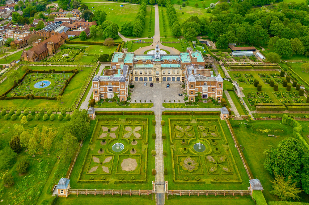 Hatfield House and Gardens outside London