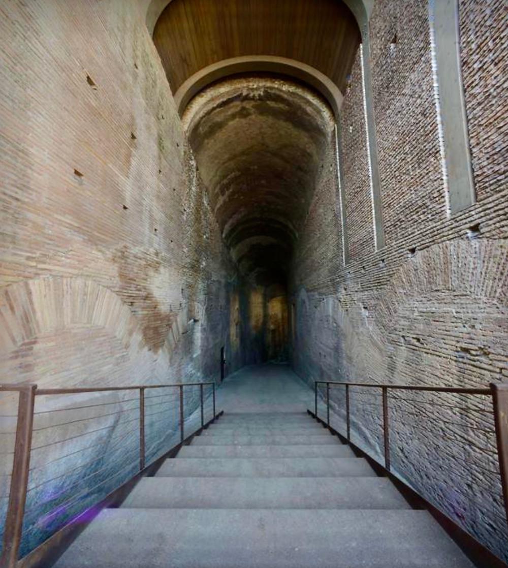 the Ramp of Domitian