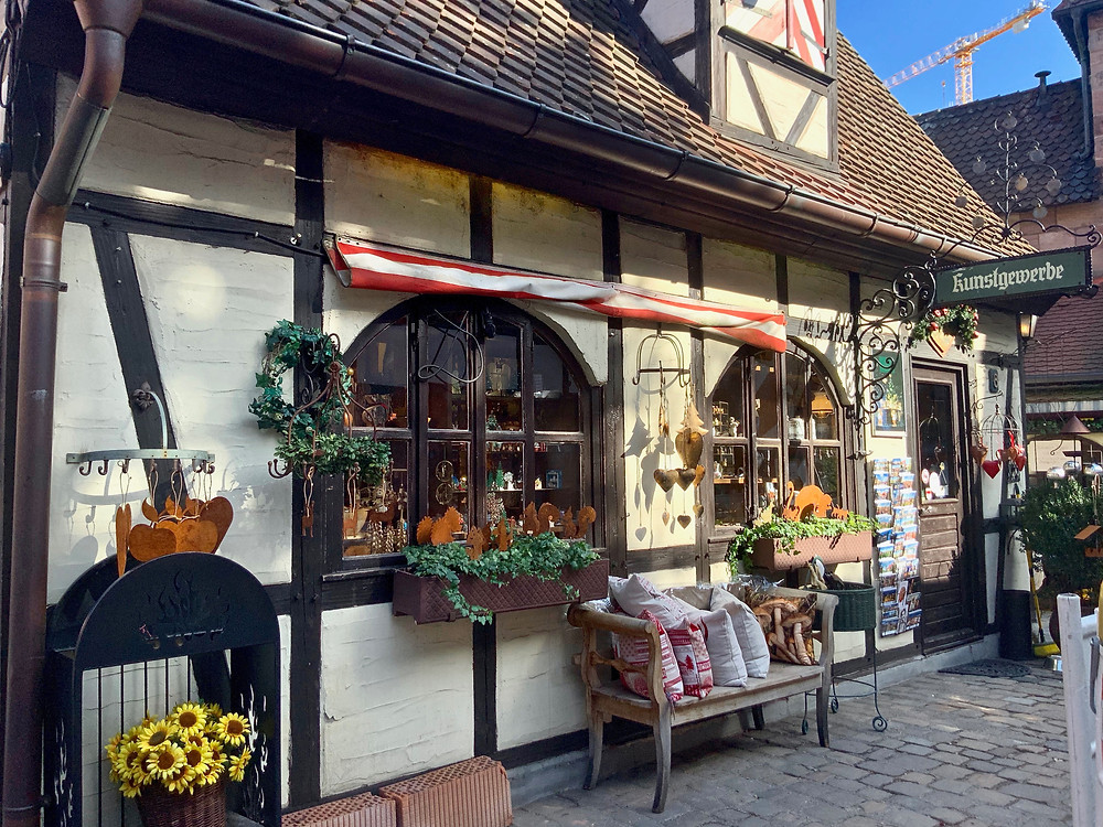 shop in the tiny craftsman's village of Handwerkerhof, where I picked up a few of Nuremberg's famed toys