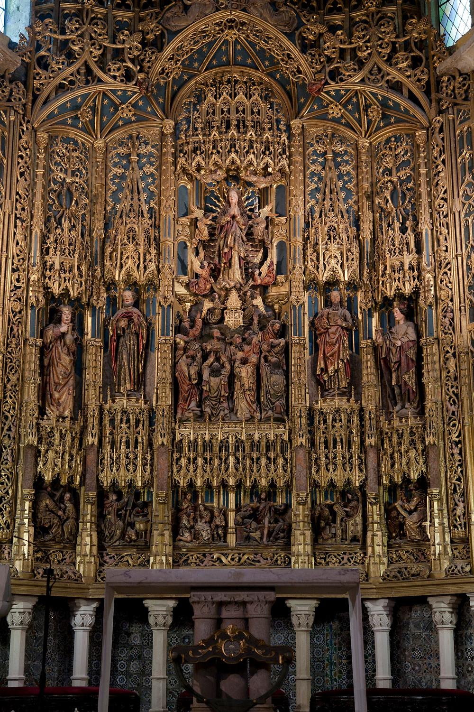 the gaudy high altar