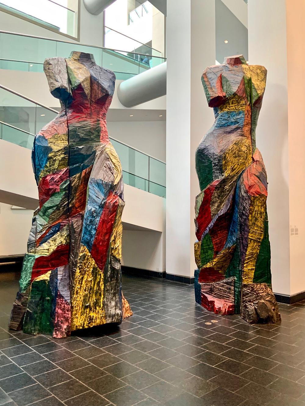 Jim Dine, At the Carnival, 1996  -- Dine's modern take on the Louvre's Venus de Milo