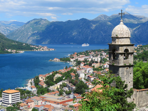Conquering the Castle of San Giovanni in Kotor Montenegro