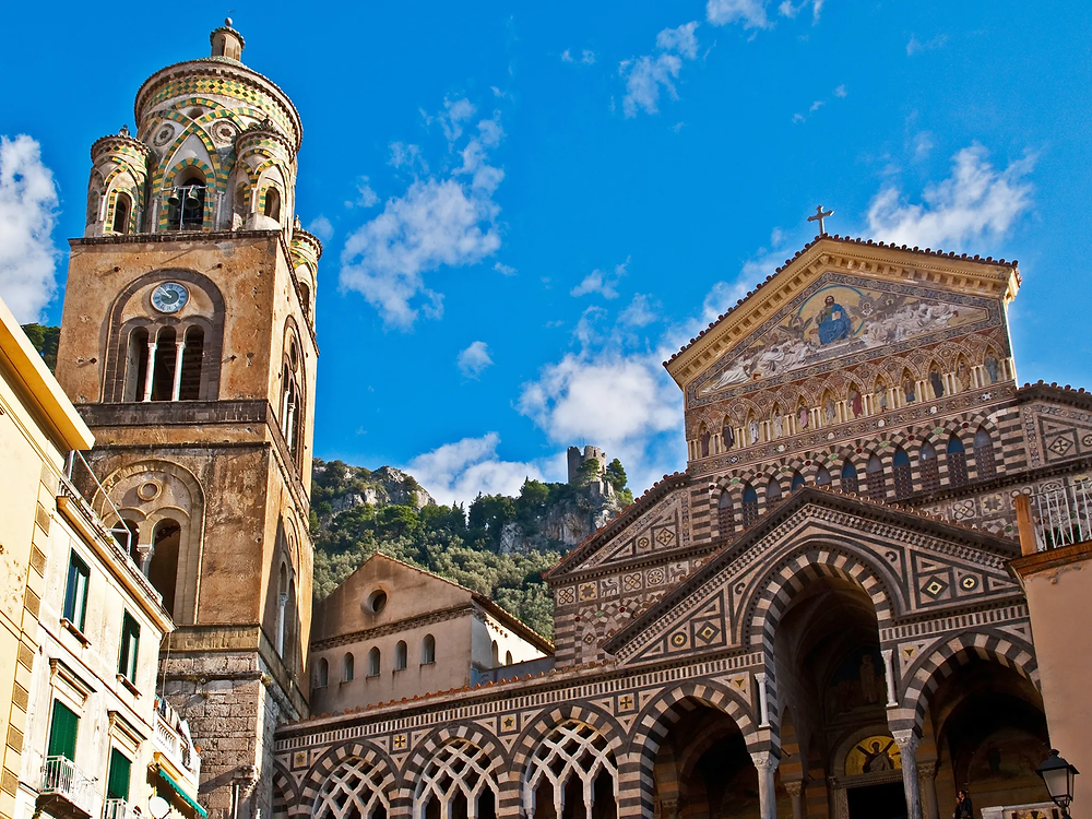 St. Andrew's Cathedral in Amalfi