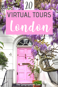 the best virtual tours of London England