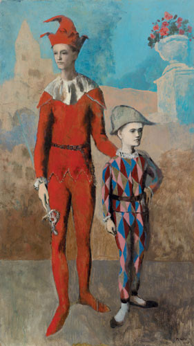 Pablo Picasso, Acrobat and Young Harlequin, 1905