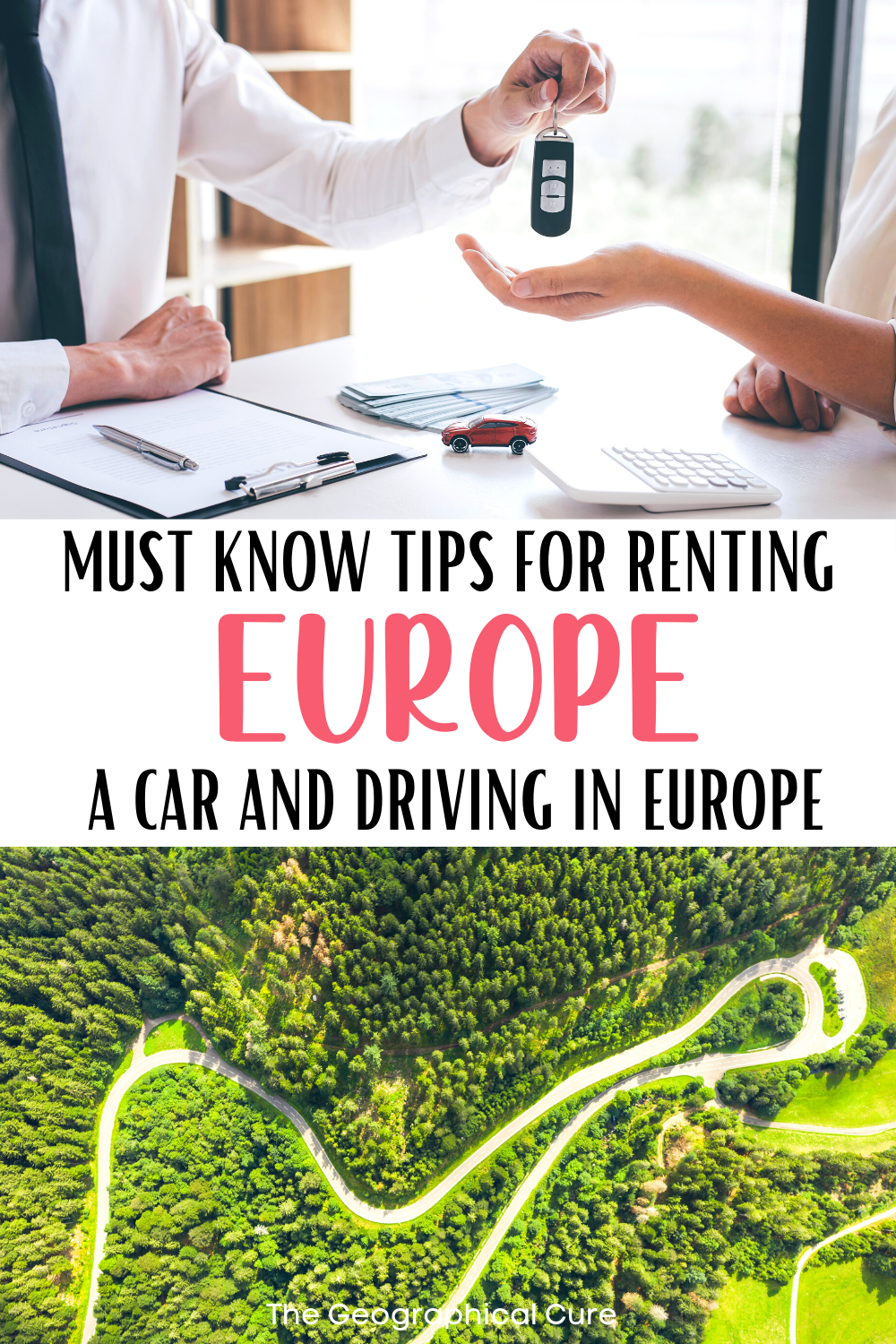 key tips or renting a car and driving in Europe