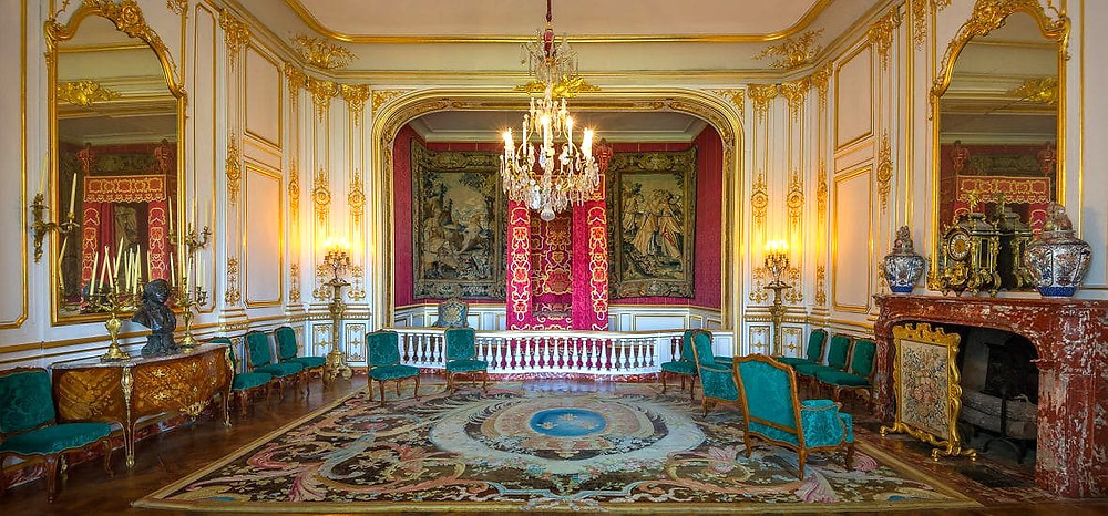 bedroom of Louis XIV