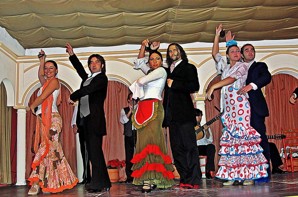 flamenco music -- fun but very loud in the wee hours