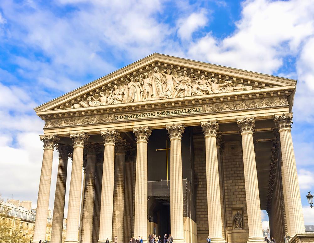 La Madeleine Church in the 9th arrondissement