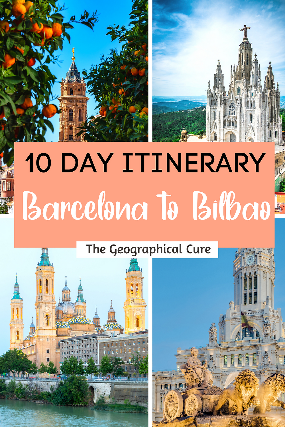 10 Day Spain Itinerary: Barcelona to Bilbao