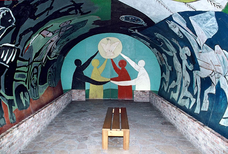 Picasso's War and Peace Chapel