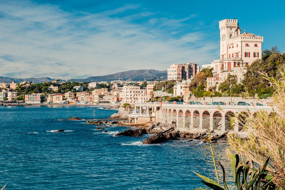 the underrated town of Genoa Italy