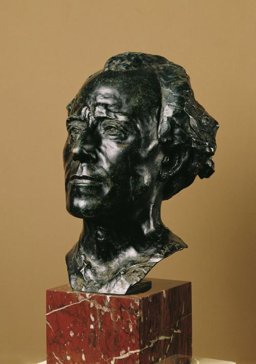 Auguste Rodin, Bust of Gustave Mahler, 1909
