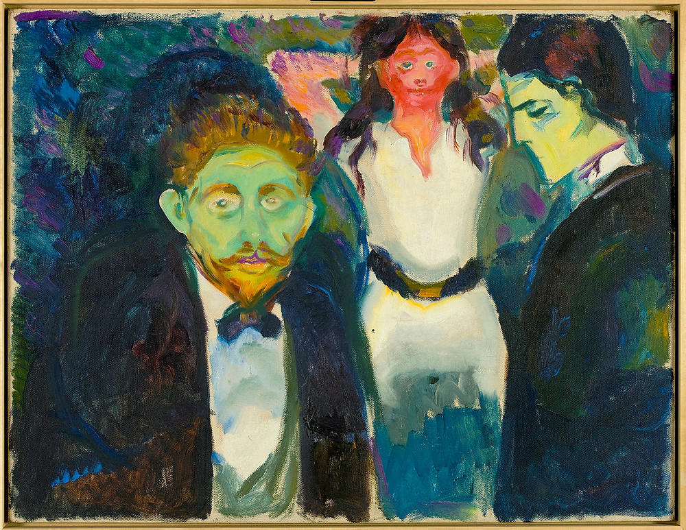 Edvard Munch, Jealousy, 1907