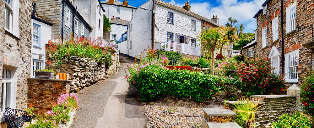 Aunt Ruth's house on the show Doc Martin