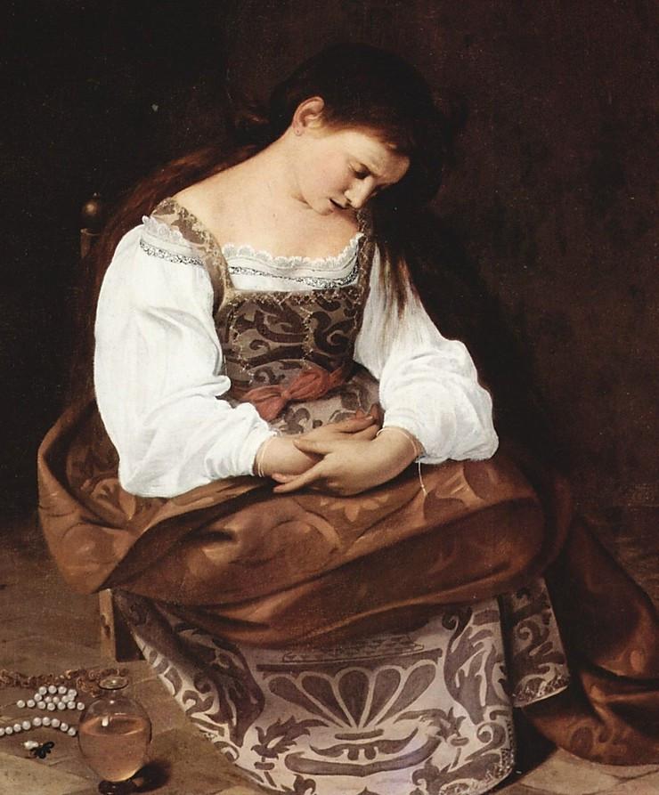 Caravaggio, the Penitent Magdalene, 1597