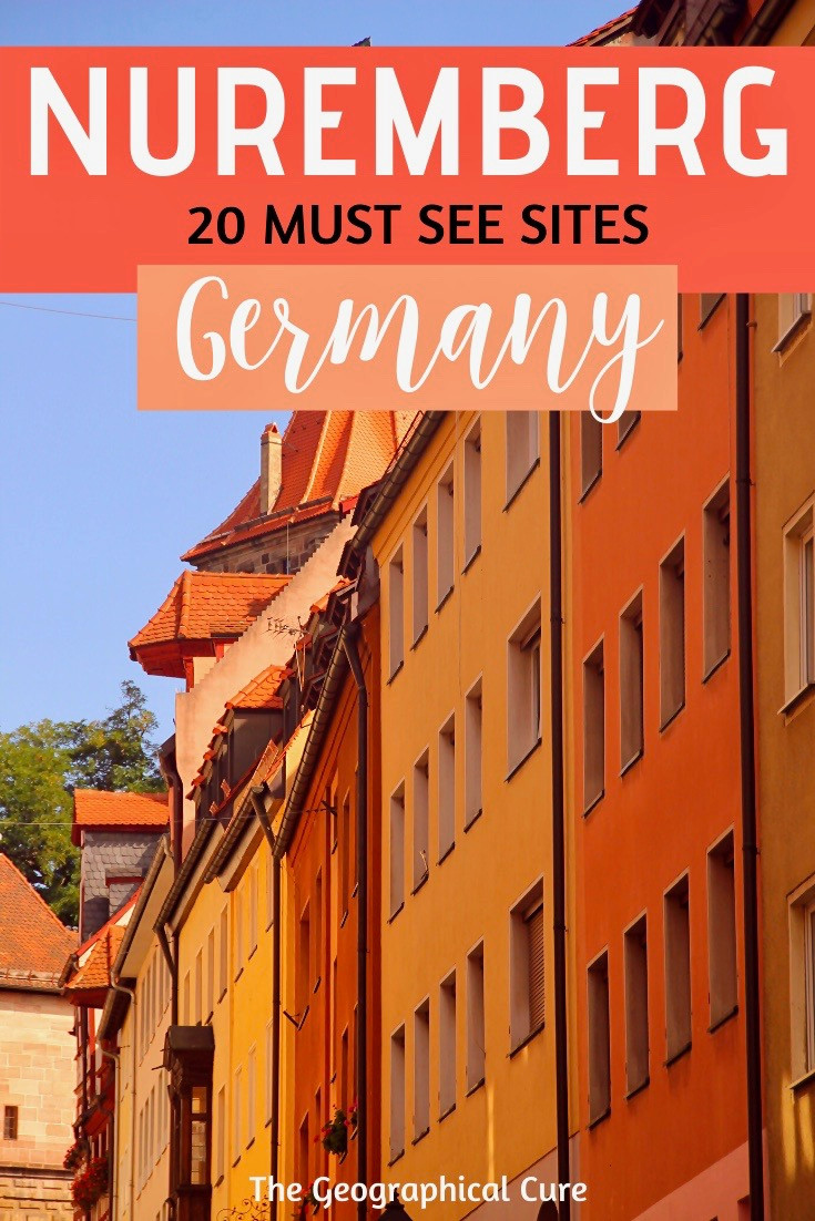 this best sites and things to do and see in Nuremberg Germany, a Bavarian gem