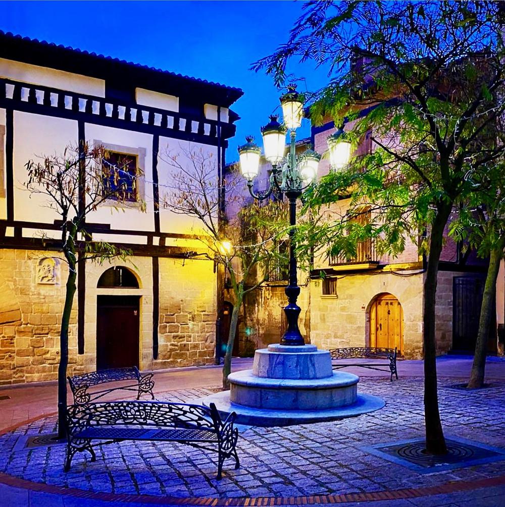 San Martin Square in Haro Spain