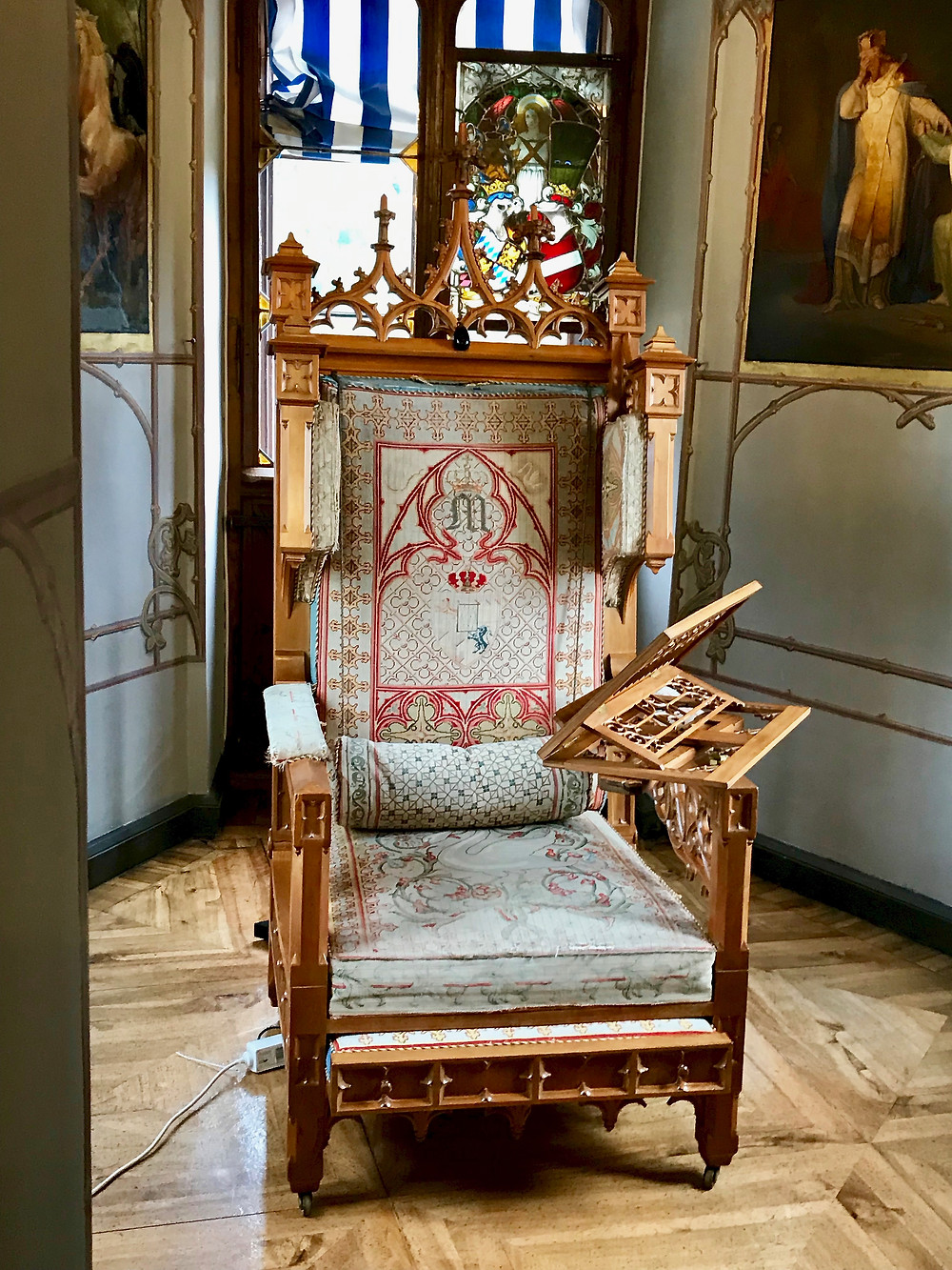 Ludwig's reading chair