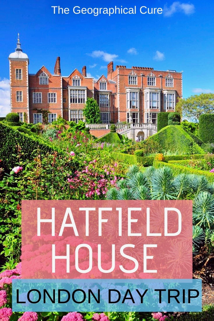 Hatfield House, a magnificent Jacobean palace that was home to Elizabeth I and is a filming location for the award winning movie The Favourite