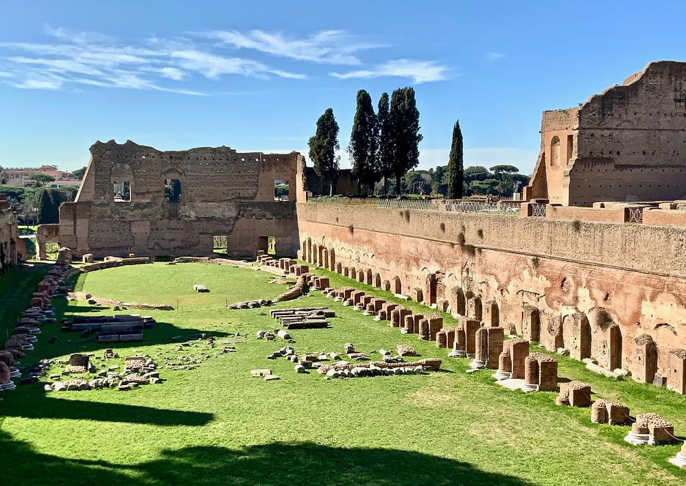Stadium of Domitian on Palatine Hill