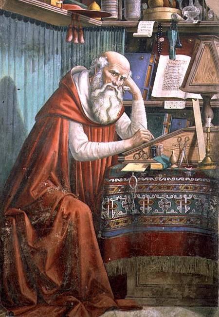 Ghirlandaio, St. Jerome in His Study, 1480