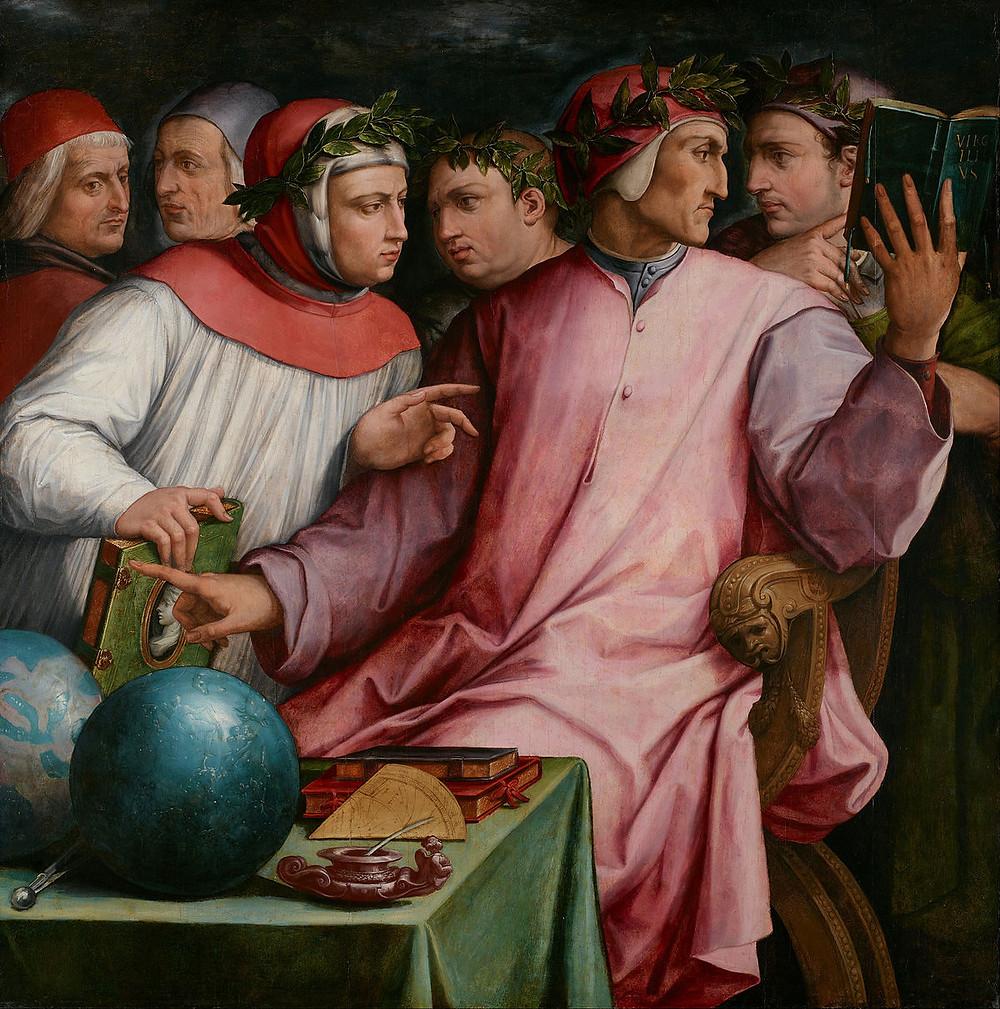 Vasari, Six Tuscan Poets, 1544