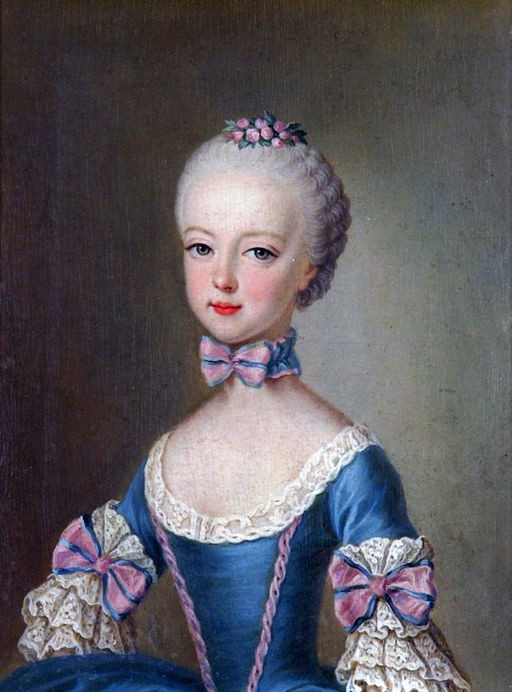 Archduchess Marie Antoinette as a child