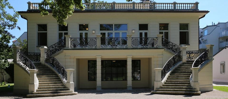 the Klimt Villa, image by Manfred Werner SA