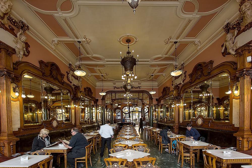 Cafe Majestic. Image source: José Moutinho