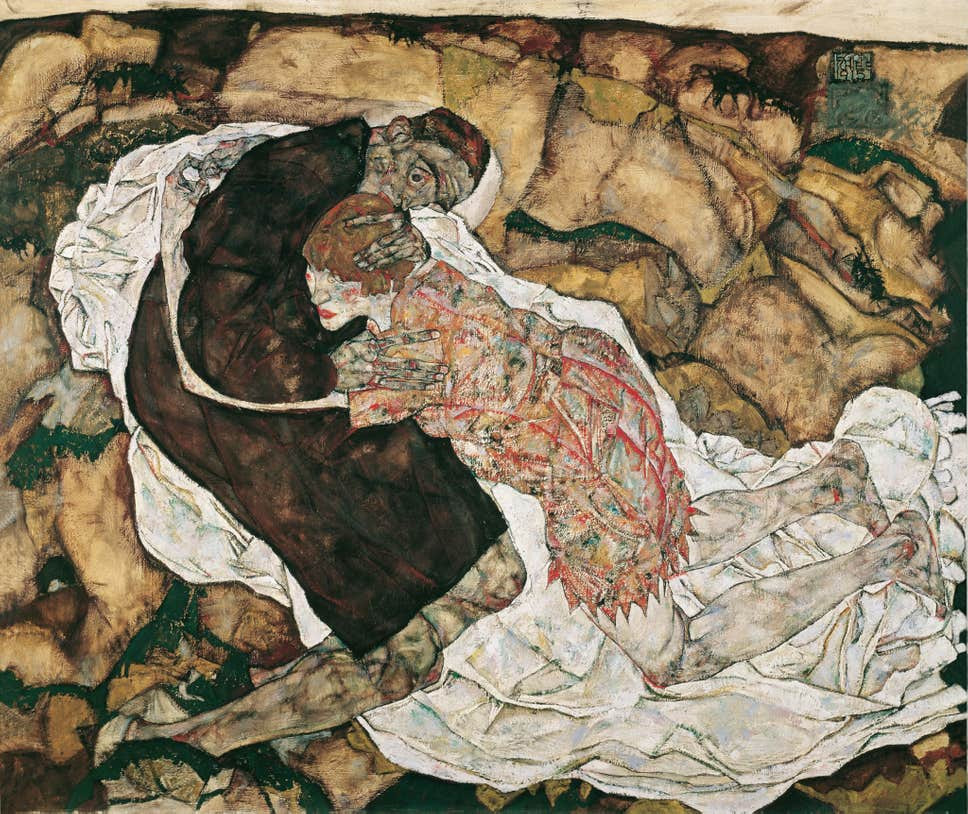 Egon Schiele, Death and the Maiden, 2015-16