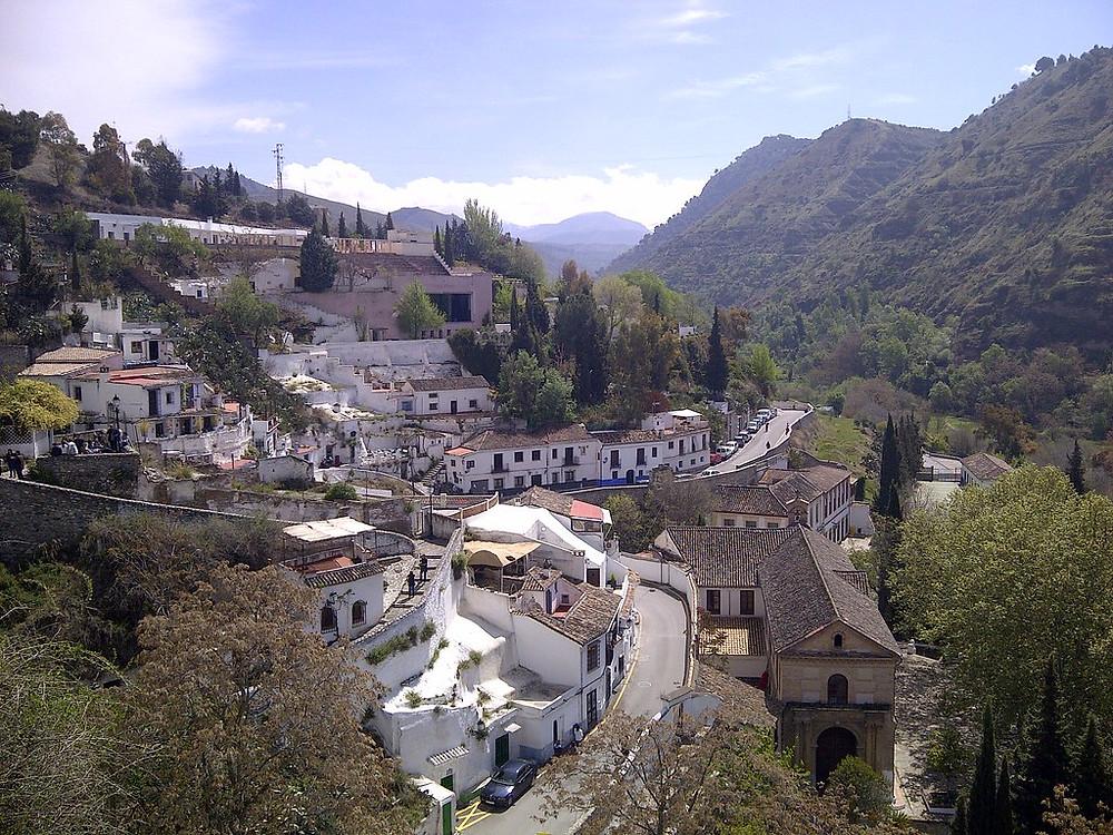 the Sacramonte Barrio in Granada Spain