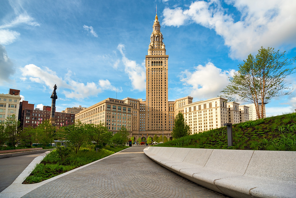 Terminal Tower in Public Square