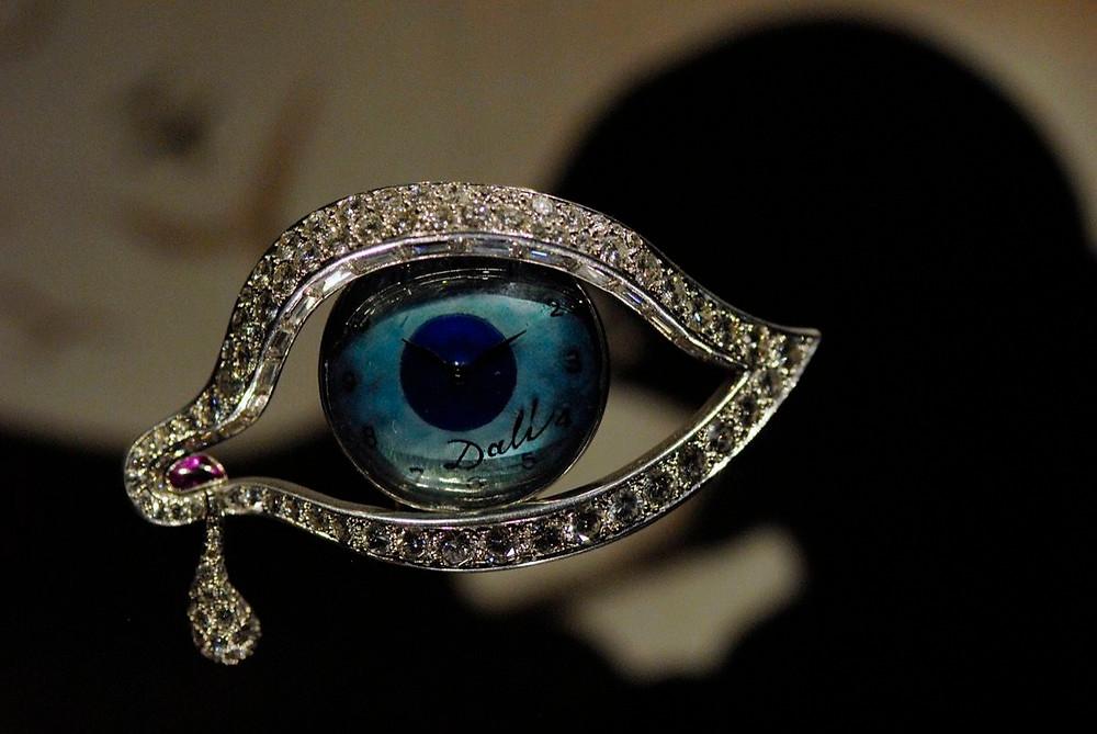 Salvador Dali, Eye of Time, 1949