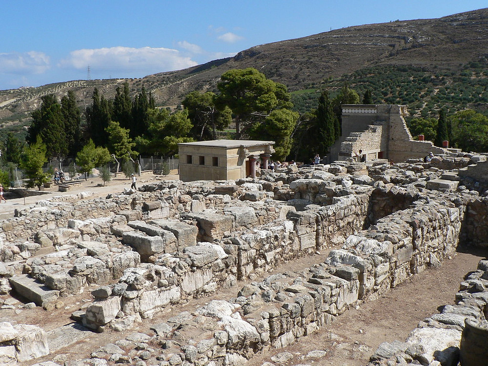 northern buildings at Knossos