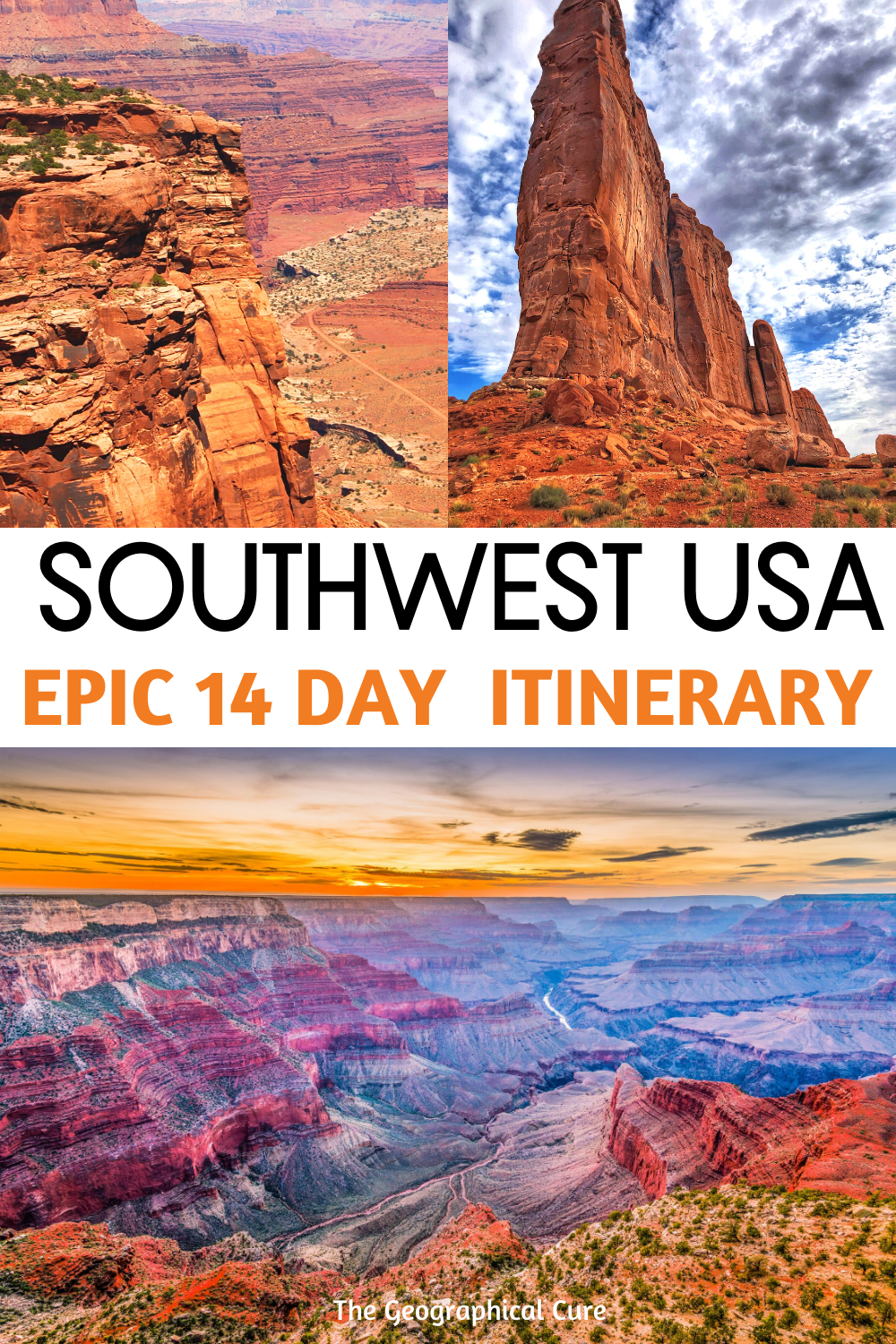 Epic 14 Day Itinerary for the American Southwest