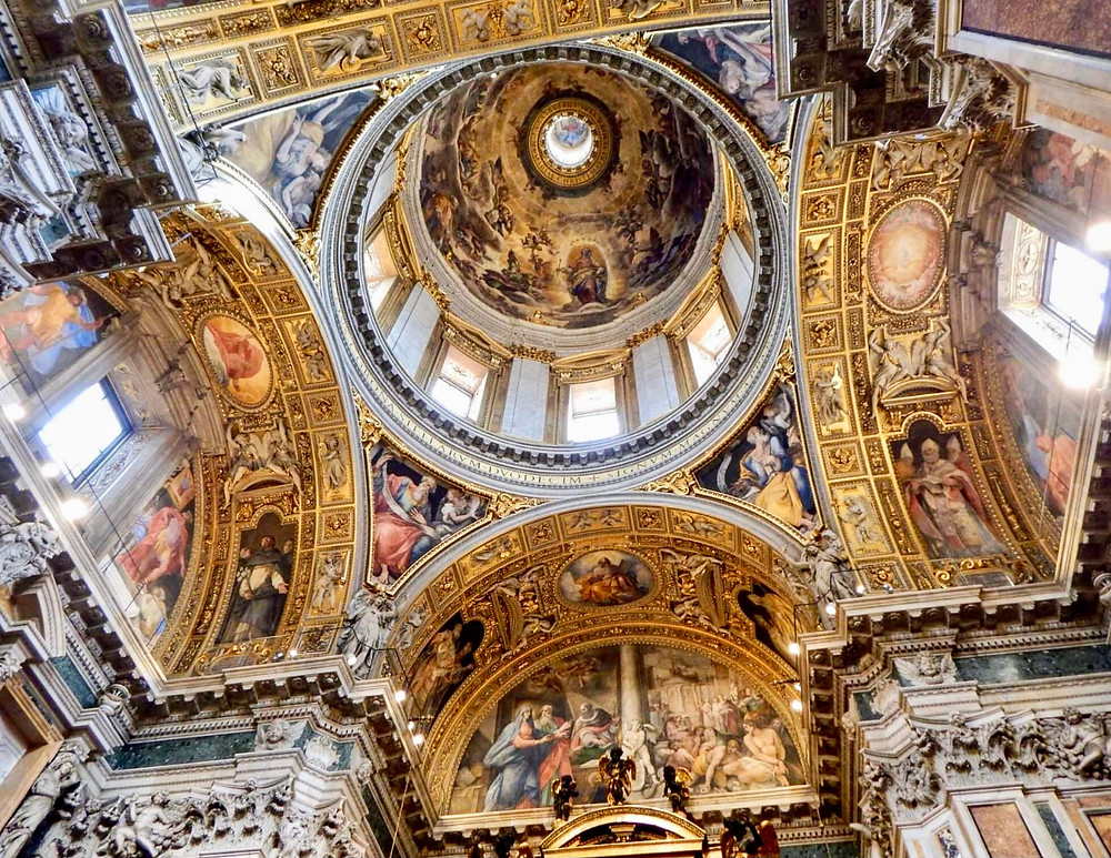 dome of the Sistine Chapel