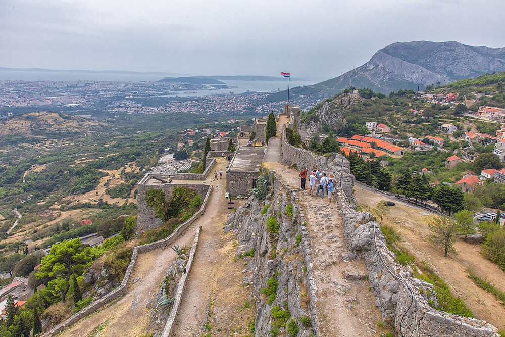 Klis Fortress outside Split Croatia