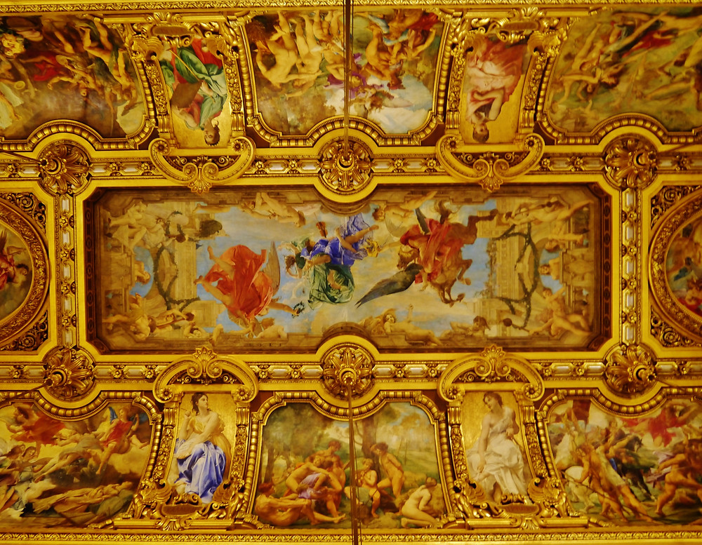 Paul Baudry ceiling of the Grand Foyer