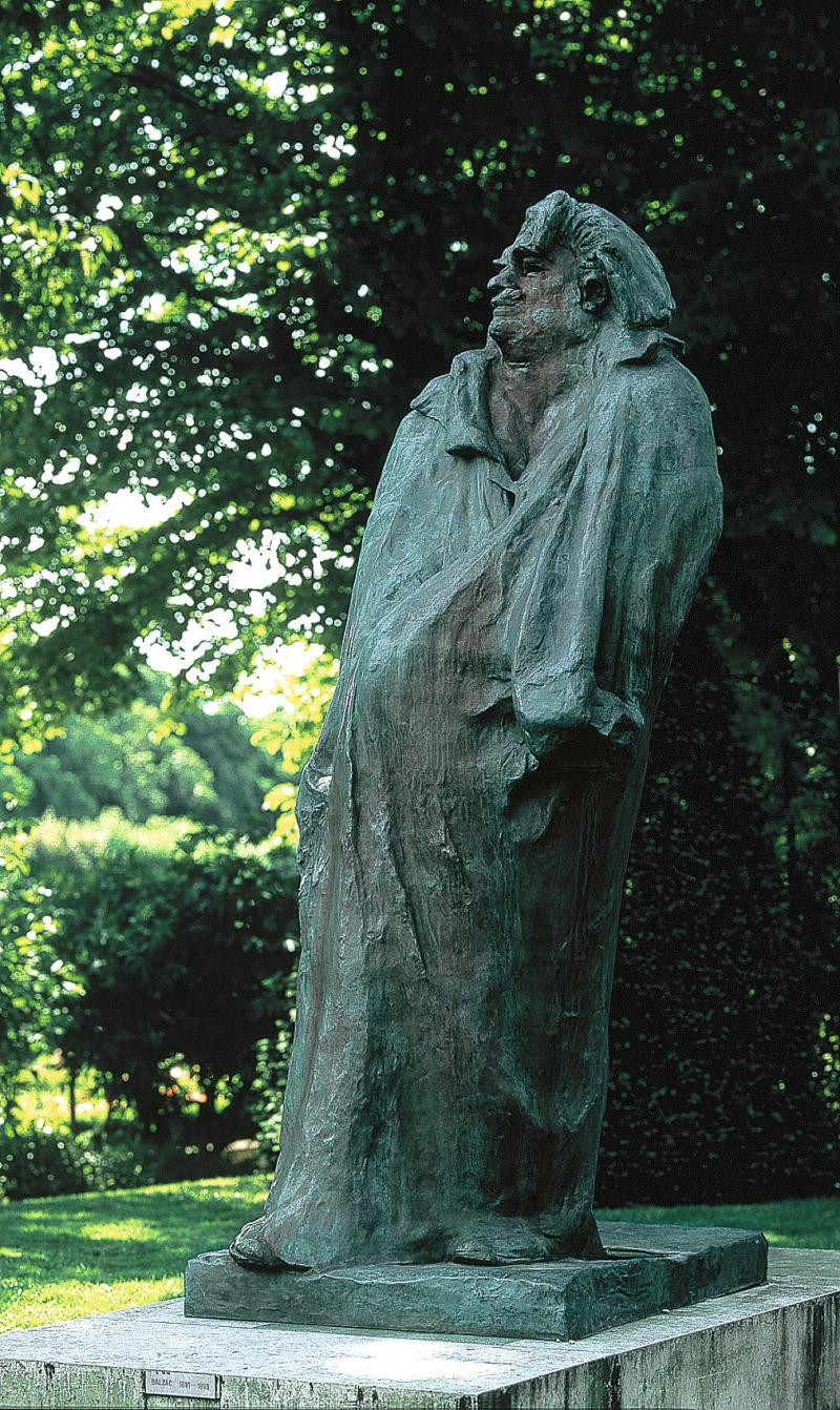 Auguste Rodin, Monument to Balzac, 1891, one of Rodin's most revolutionary sculptures