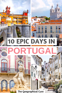 the perfect itinerary for 10 days in Portugal