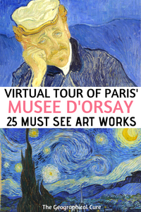 a virtual tour of the amazing Musee d'Orsay in Paris France
