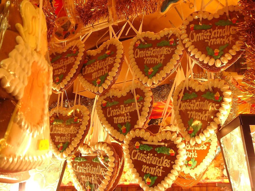 Nuremberg gingerbread, a local specialty