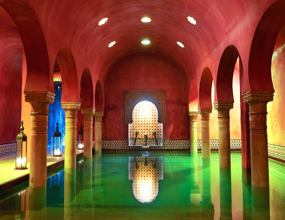Arab bath in Granada